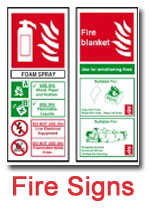 Fire Safety Signs by Fire Safe